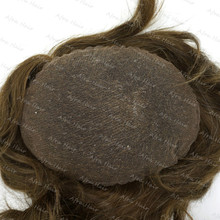 Toupee Full Swiss Lace Glueless for Men Special Custom Service H074