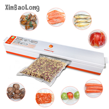 220V 110V Mini Household Food Vacuum Sealer China Machine Sealing Keep Fresh Film Sealer Vacuum for Home Packer With 15Pcs Bag