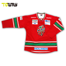 Sublimation ice hockey jersey/custom style hockey shirts/hot ice hockey jersey/popular hockey items(China)