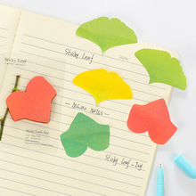 60 pcs/Lot Ivy leaf sticky memo notes 20 sheets Removable adhesive pad stickers for diary Stationery office School supplies 6486(China)