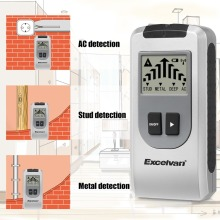 Excelvan 4 In 1 Metal Detectors Metal Stud Deep AC Electrical Live Wires Detector Wall Scanner Electric Box Finder Wall Detector