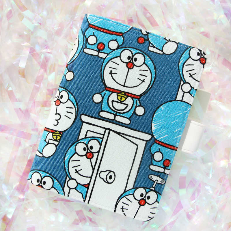 Blue Cartoon Cat Cute Hobonichi Style Journal Cover A5 A6 1 Piece Free Shipping