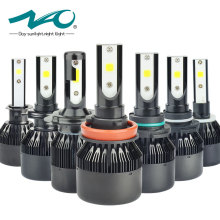 NAO h4 led bulb car light h7 headlight bulbs 12V h11 h1 h3 h8 h9 hB3 9005 hB4 9006 h27 880 881 h13 automobiles lamp fog light F2(China)
