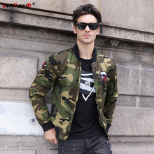 GustOmerD 2017 New Autumn Winter Camouflage Military Jacket Men Casual Style Army Bomber Jacket Men Fashion Male Jackets Coats(China)