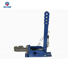 Blue Universal Car Hydraulic Handbrake Vertical Drift Rally Racing E-Brake Lever with Locking Device Master Cylinder(China)
