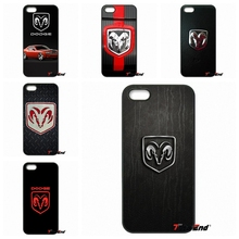 Pop Awesome Dodge Ram logo Cell Phone Case Cover For iPhone 4 4S 5 5C SE 6 6S 7 Plus Galaxy J5 J3 A5 A3 2016 S5 S7 S6 Edge