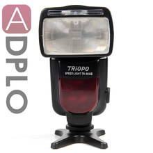 Triopo TR-960 III Wireless Flash Speedlite Suit For Canon 5D III 700D /For Nikon Df D800E /For Olympus(China)