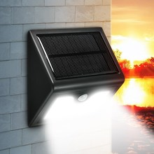 200lm 28 Solar Power Human Body Motion Sensor Garden Light Control Security Lamp Outdoor LED Solar Light Waterproof IP65 2835(China)
