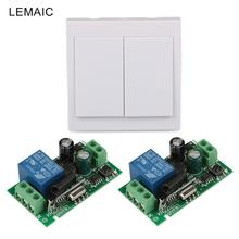 86 Wall Panel Switch Remote Control Transmitter Control RF TX Relay Receiver Module 433 MHz Wireless Switch(China)