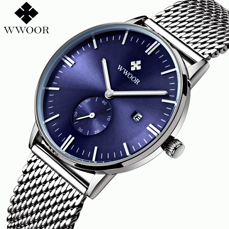 Men Watches 3231 Luxury Brand Full Steel Ultrl Big Dial Quartz Clock Casual Watch Army Business Sport Watch relogio masculino<br>