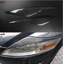 Buy 2pcs/set Carbon Fiber Headlight Lamp Eyebrow Eyelid Cover Trim Ford Mondeo Mk IV MK4 2008-2013 for $37.28 in AliExpress store