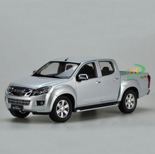 High simulation 1:18 ISUZU D-MAX Alloy Pickup truck Model Metal Die cast Car Toy For Kids Gifts Toys Collection Free Shipping(China)