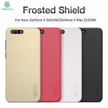 NILLKIN Frosted Shield For Asus Zenfone 4 Ze554kl Phone Case Luxury Slim Hard Plastic Matte Cover For Asus Zenfone 4 Max Zc554kl(China)