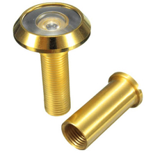 Adjustable 180 Degree Wide Angle Door Viewer Peep Brass Sight Hole For Home Security Tool