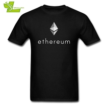 Buy XXXL T Shirts Crypto Coin Ethereum Cryptocurrency Funny T-Shirts Adult Crew Neck Short Sleeve Tees Men Fun 100% Cotton Plus Size for $12.88 in AliExpress store