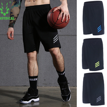 Mens Sports Running Shorts Training Soccer Tennis Workout GYM Shorts Quick Dry Outdoor Jogging Elastic Shorts With Zipper Pocket(China)