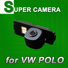 Car rear view reverse backup camera for VW Polo Magoton New Bora Beetle Passat CC Golf 6 Seat Leon Jetta Led Light(China)