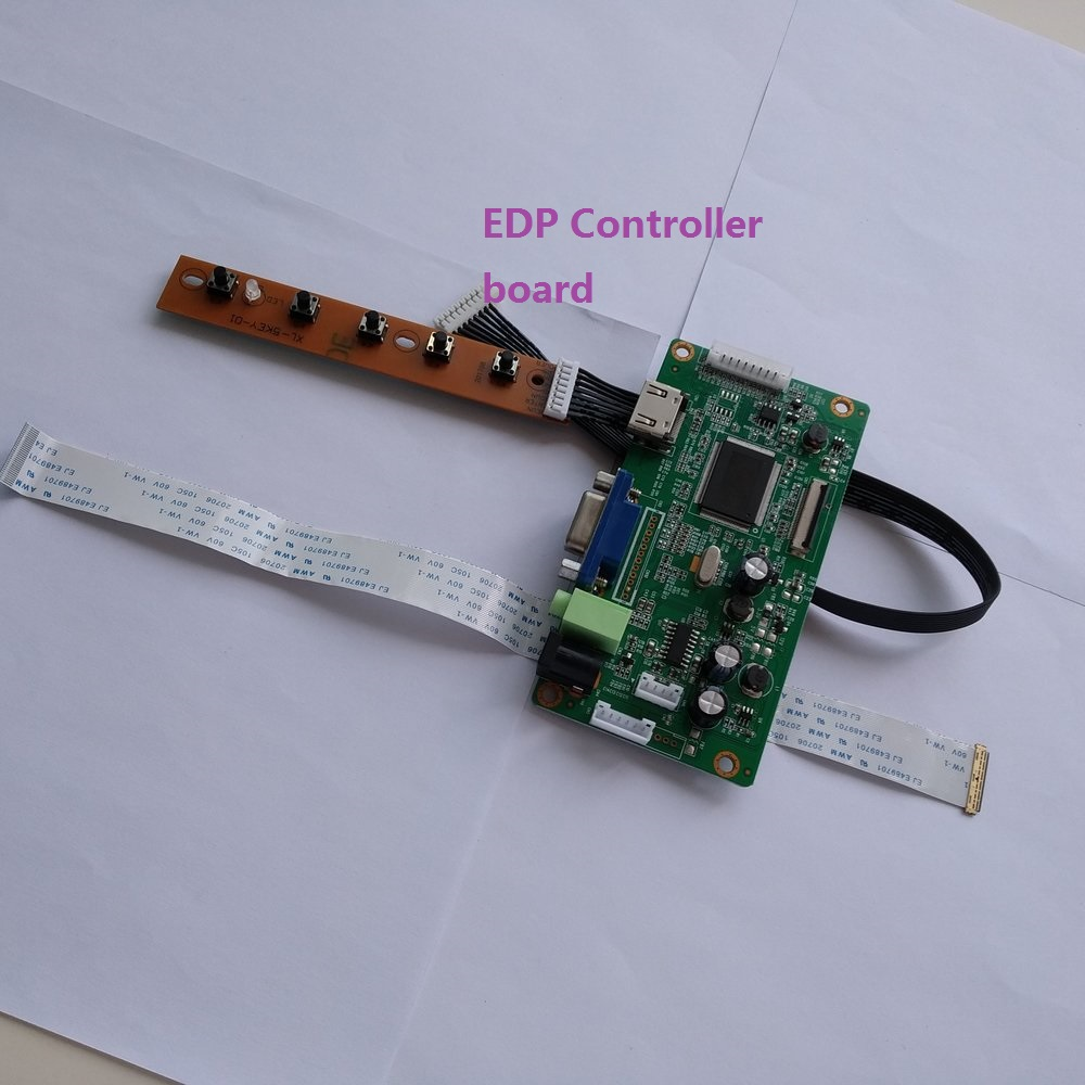 Controller-Board-Kit Lcd-Driver Display Diy Monitor NV156FHM-N42 HDMI 30pin for EDP LED title=