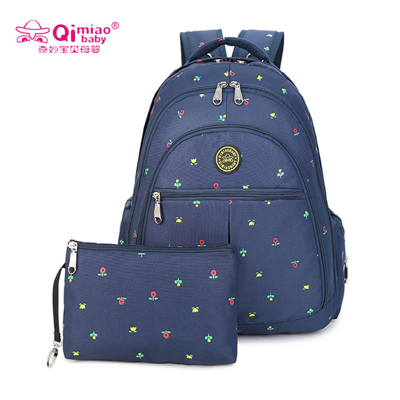 Diaper Bag For Mother Baby Bag Maternity Backpack Stroller Bag Multifunction Big Capacity Backpack Nappy Bag With 3pcs Gifts<br>