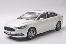 1:18 Scale Diecast Model Car for Ford Mondeo Fusion 2017 White SUV Alloy Toy Car Collection Gifts(China)