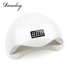Dmoley 48W UV LED Lamp Nail Dryer SUN5S Nail Lamp With LCD Display Auto Sensor Manicure Machine for Curing UV Gel Polish 2 Mode