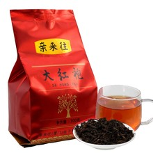 China Tea Chinese Special Grade Dahongpao Oolong Tea 100g  Wuyi Yan Cha Wuyi Cliff Tea Wulong Premium Da Hong Pao Oolong Tea