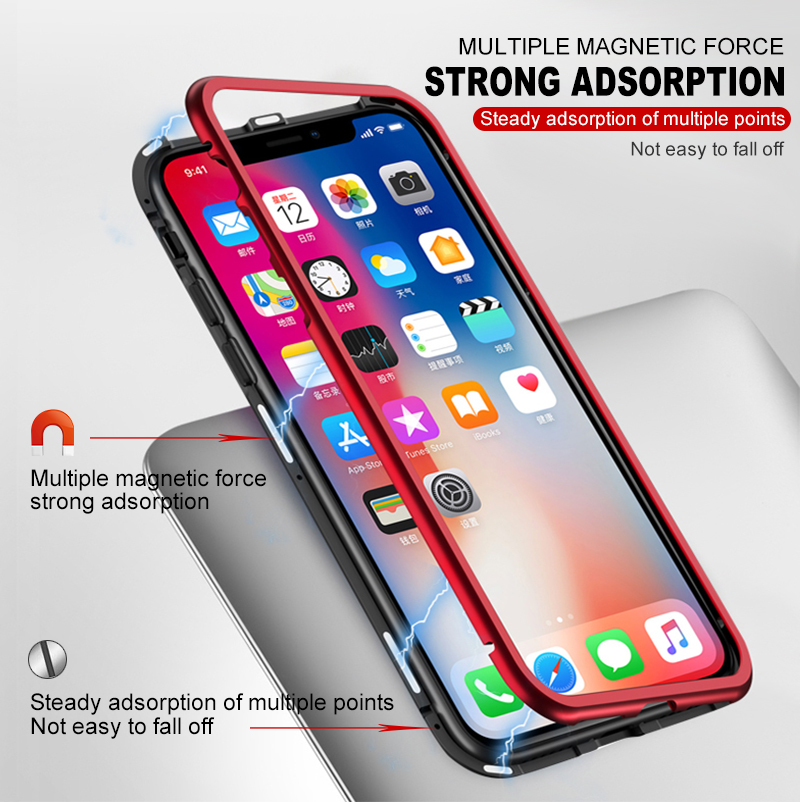Magnetic case for iphone 8 (8)