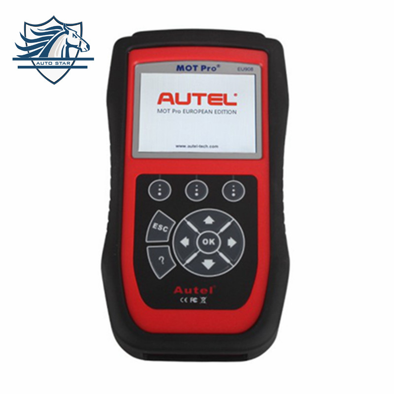 (Authorised Distributor)Autel MOT Pro EU908 Multi-Functions Scan Tool EPB for Domestic, Asian & European Vehicles Update Online(China (Mainland))