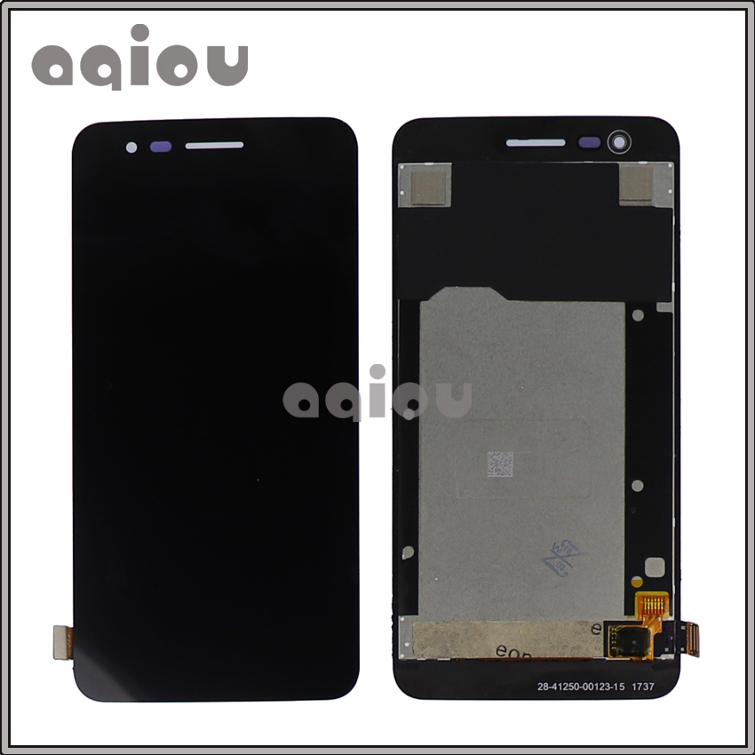 "5.0"" LG K4 2017 X230 LCD Display Assembly Touch Screen Digitizer frame Full High X230DSF"