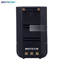 NKTECH 2000mAh Battery For TYT DMR MD-380  MD-380U Digital Mobile Radio Two Way Radio Walkie Talkie Ham Transceiver Pack of 2