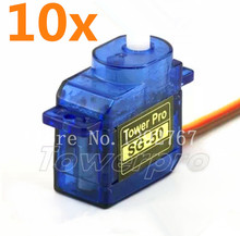 10Pcs TowerPro SG-50 5g Mini/Micro Digital Servo Motor For RC Remoto Airplane Car Helicopters Boat Trex SG-50