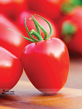 Heart-Shaped Tomatoberry Garden Tomato Hybrid Seed, Professional Pack, 100 Seeds / Pack, Thick Juicy Sweet Aromatic Tomato E3072