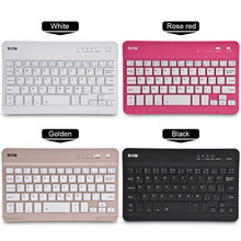 B.O.W HB028 Bluetooth Wireless Keyboard Rechargeable Keyboards For IOS Android Windows Mini Keyboard slim Keyboard Universal