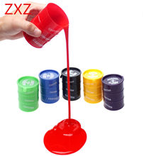 5cm*4cm New Barrel O Slime Goo Silly Fun toy Gag Prank Trick Kids Toy Supply Crazy Party Novelty Child toys Gift Random Color(China)