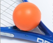 Squash Rackets PU ball squash professional training exercise for beginners orange random color