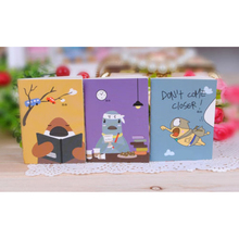 Wholesale Cheap Cartoon Little Notebook Handy Notepad Paper Notebook(China)