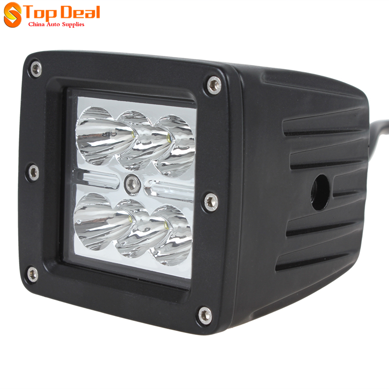 Sales18W Led Work Light Bar Spot Light Beam Offroad Light  LED Work Lamp for Car  ATV SUV 4WD 4X4<br><br>Aliexpress