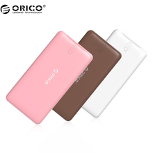ORICO Power Bank 2500-20000mAh Scharge Polymer Power Bank Power Portable external battery Micro USB For Mobile Phone