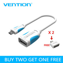 Vention Micro USB OTG Cable OTG Adapter for Samsung Galaxy S6 S4 HTC LG Sony Xiaomi Android mobile phone cables Tablet MP3