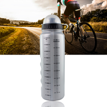GUB 1000ml Bike Bottle For Water Portable Plastic Cycling Water Bottles With Dust Cover Bike Accessories Outdoor Sports Bottle(China)