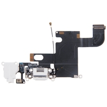 iPartsBuy Brand New Charging Port Dock Connector Flex Cable for iPhone 6 High Quality Sensor