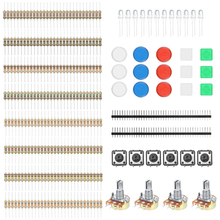 Component Switch Button Resistors Basic Element Electronic Parts Pack Kit for Arduino Experiment(China)