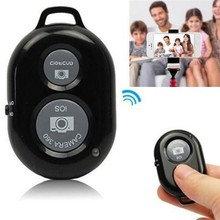 Bluetooth Wireless Self-Timer Shutter Button Release Camera Remote Controller for iPhone 4 5 6 Plus for Samsung Smart Phone(China)