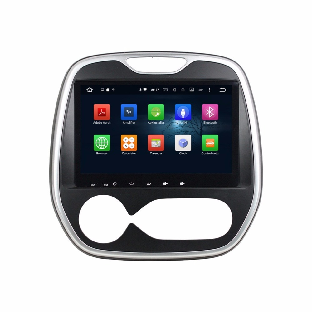 9″ Android 6.0 Android 7.1 Car Radio GPS Multimedia Head Unit for Renault Capture (MT) 2016 With 2GB RAM Bluetooth 3G 4G WIFI