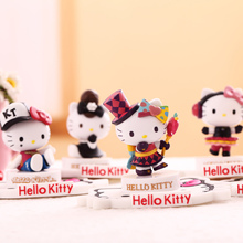 Universal holder Hello Kitty mobile Phone Support for iphone Mobile Car Holder Stand Bracket desktop Toys for xiaomi for samsung(China)
