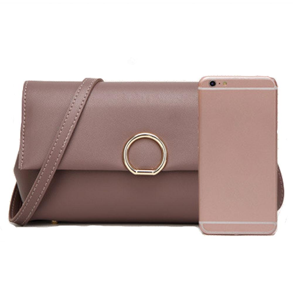 Valenkuci Brand Crossbody Bag Casual Solid Soft Zipper Women ... b3f3dc0274