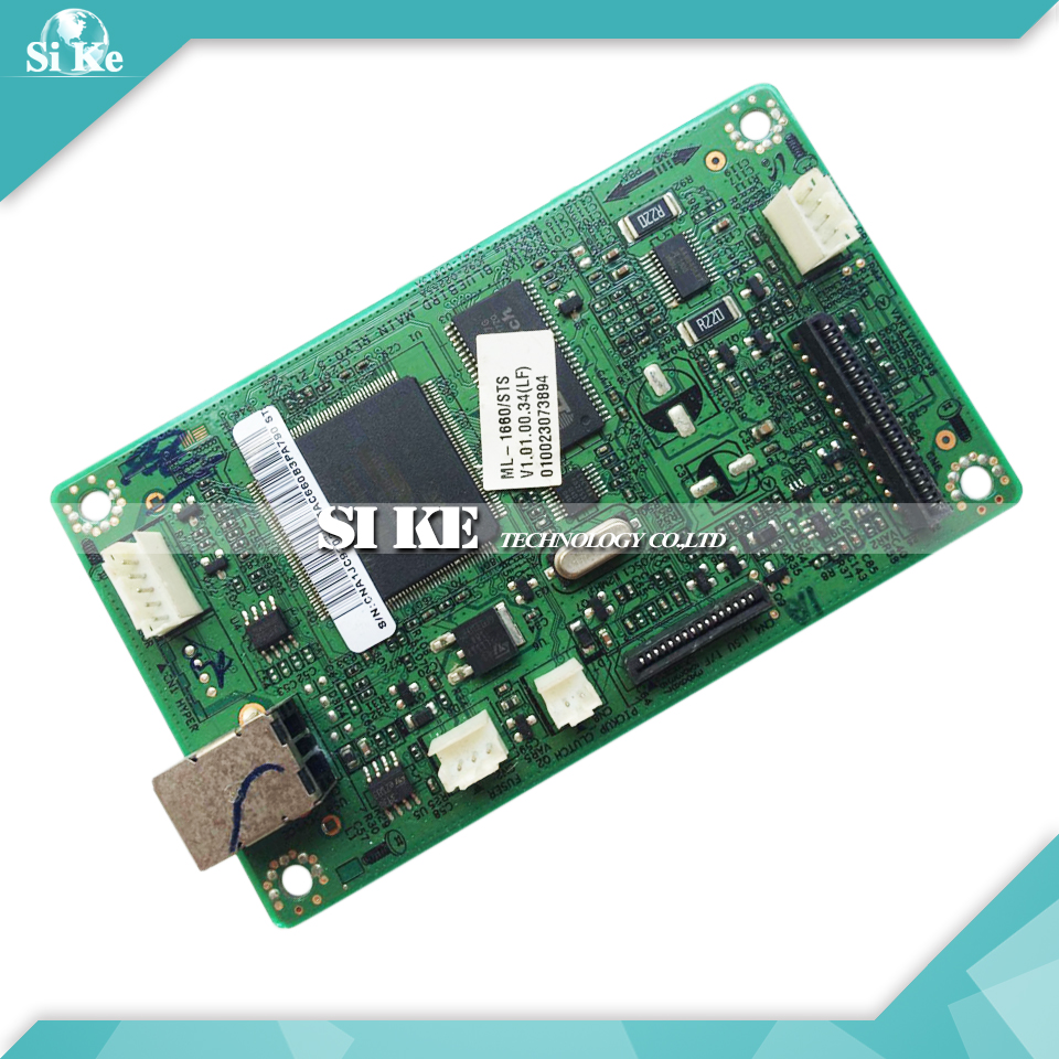 Laser Printer Main Board For Samsung ML-1660 ML-1661 ML-1665 ML-1666 ML 1661 1660 1665 Formatter Board Mainboard Logic Board<br>