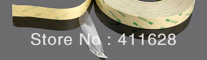 1x Original New 30mm*55M 3M9495MP, 200MP Clear Two Sides Adhesive Tape for LED LCD Frame, Display, LED Strip  Waterproof,<br>