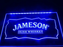 LE159- Jameson Whiskey Bar Club Pub LED Neon Light Sign