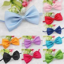 High Recommend 1 PCS Fashion Pet Dog Collar Dog Accessories 8 Colors Puppy Cat Pet Toy Kid Bow Tie Necktie Clothes Free Shipping